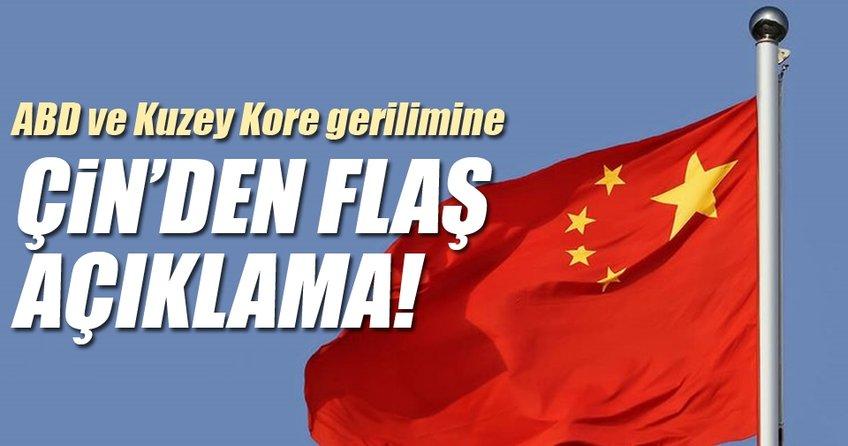 Çin'den ABD ve Kuzey Kore'ye gerilimi durdurma çağrısı