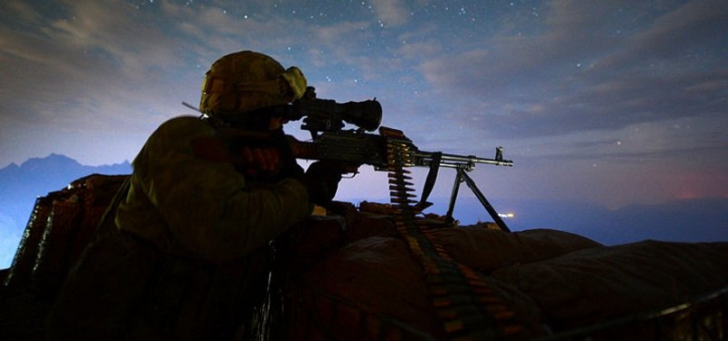 TURKISH SECURITY FORCES NEUTRALIZE 5 PKK TERRORISTS