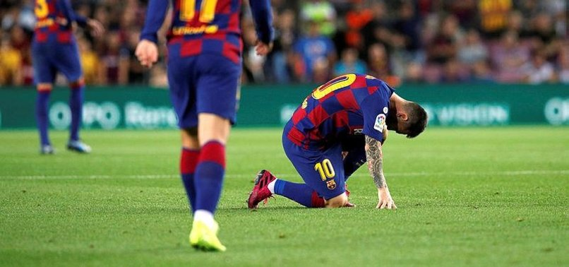 BARCELONA CONFIRM MESSI THIGH STRAIN