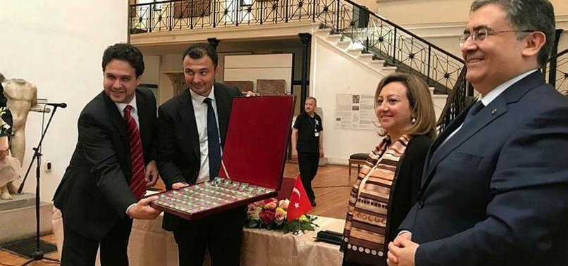 BULGARIA RETURNS 63 HISTORIC ARTEFACTS TO TURKEY