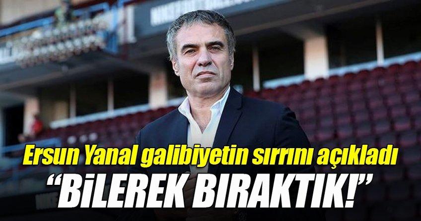 Ersun Yanal Galatasaray zaferinin sırrını açıkladı
