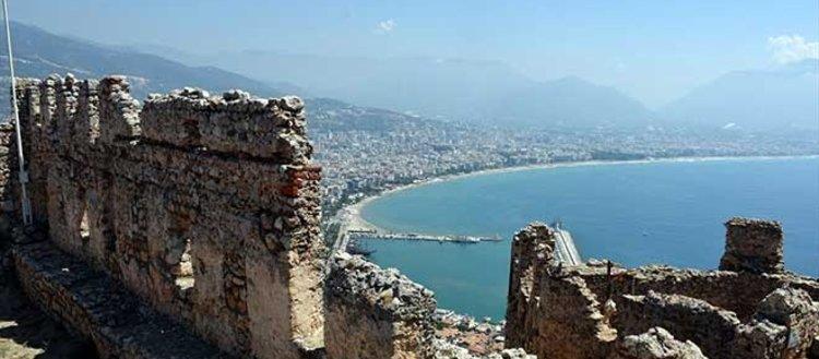 Alanyadaki Osmanlı karakolu: Ehmedek Kalesi