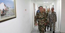 Turkish army chief in Hatay province to inspect troops