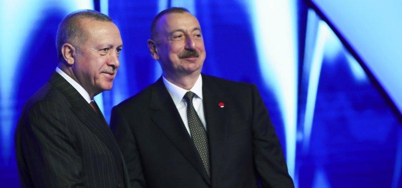 TURKEY MARKS 103RD ANNIVERSARY OF LIBERATION OF AZERBAIJANS CAPITAL