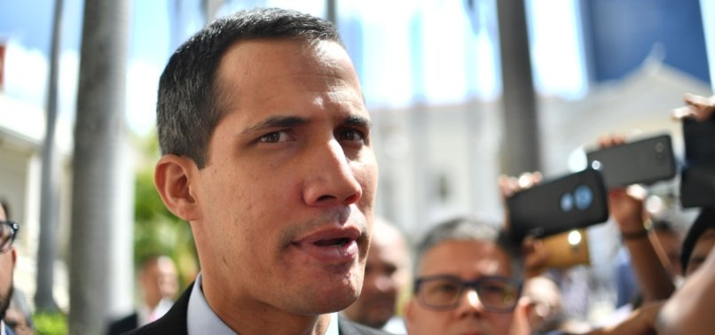 US GIVES CONTROL OF SOME VENEZUELAN ASSETS TO GUAIDO