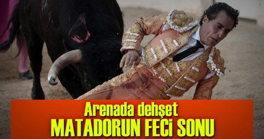 Matador boynuz darbesiyle öldü