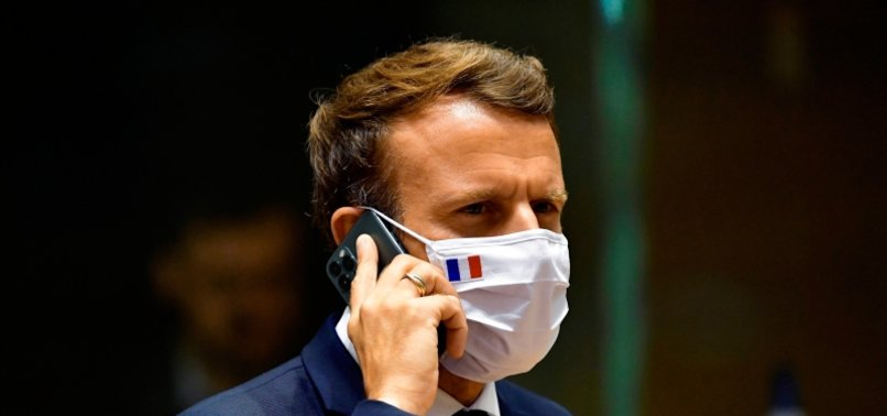 ISRAEL FIRM NSO SAYS MACRON NOT TARGETED BY PEGASUS SPYWARE