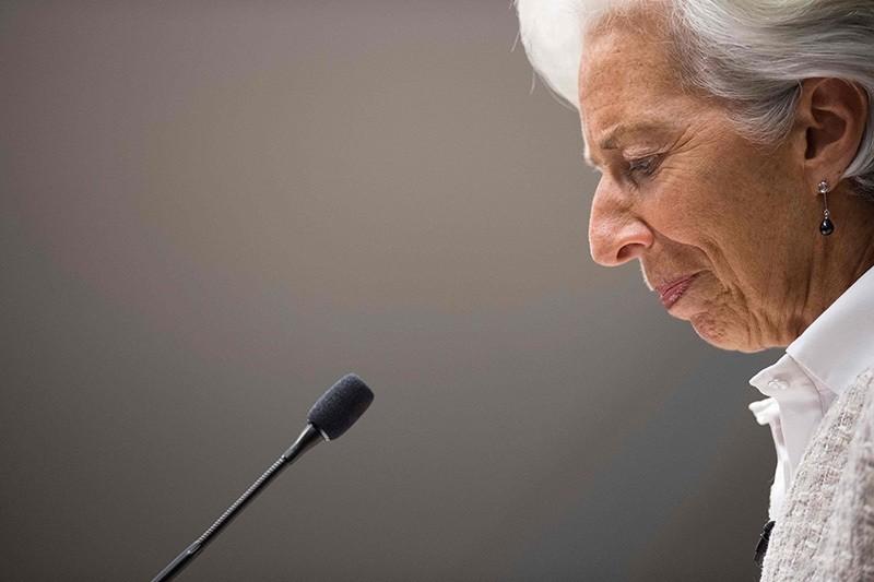 Christine Lagarde  (AFP Photo)