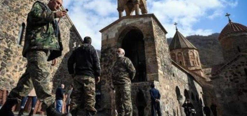 ARMENIAN TROOPS OPEN FIRE ON AZERBAIJANI SOLDIERS GUARDING BORDER