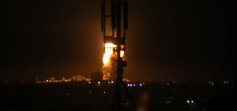 ISRAELI ARMY BOMBS WESTERN, SOUTHERN GAZA