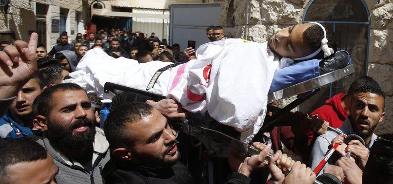 PALESTINIAN MEDIC KILLED BY ISRAELI FORCES IN WEST BANK