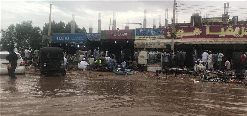 SUDAN FLOOD DEATH TOLL REACHES 62: STATE MEDIA