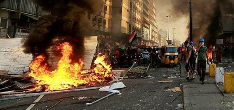 OVER 300 KILLED IN ANTI-GOVERNMENT PROTESTS IN IRAQ SINCE OCTOBER 1