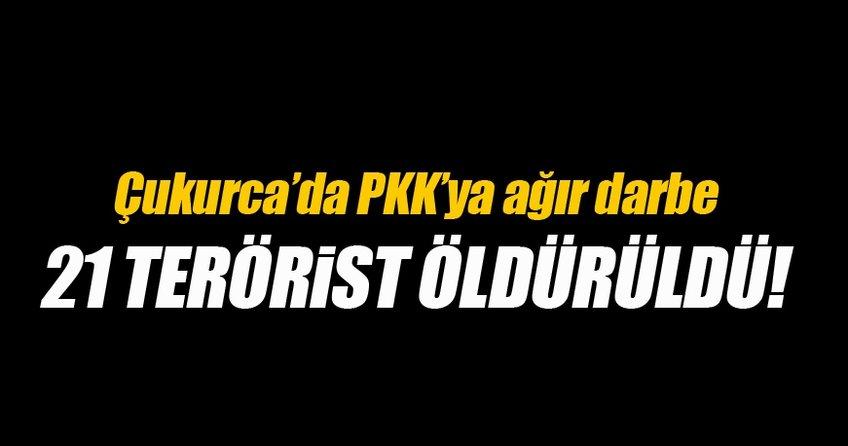 Çukurca'da PKK'ya ağır darbe!