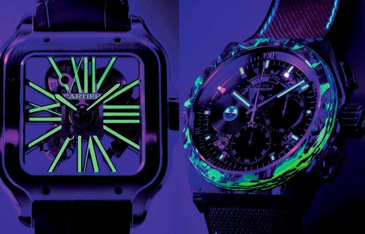 Karanlıkta Daha Çok Parlayan Saatler