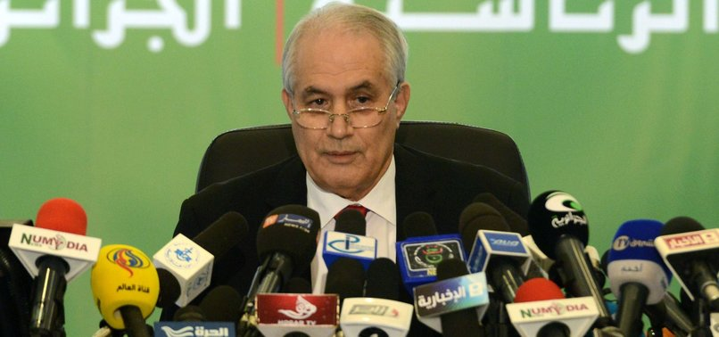 ALGERIA CONSTITUTION COUNCIL HEAD RESIGNS AMID PROTESTS