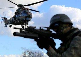 Terör örgütü PKK'nın 3 elebaşısı kıstırıldı