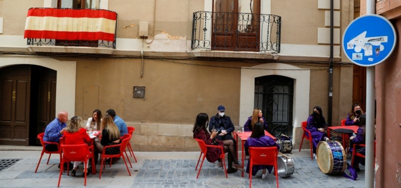 REGIONS IN SPAIN TIGHTEN COVID-19 MEASURES AS CASES CREEP UP