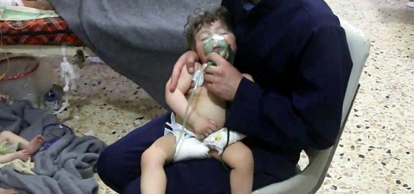 FRANCE SAYS PROOF OF POISON GAS ATTACK LIKELY DISAPPEARING IN DOUMA