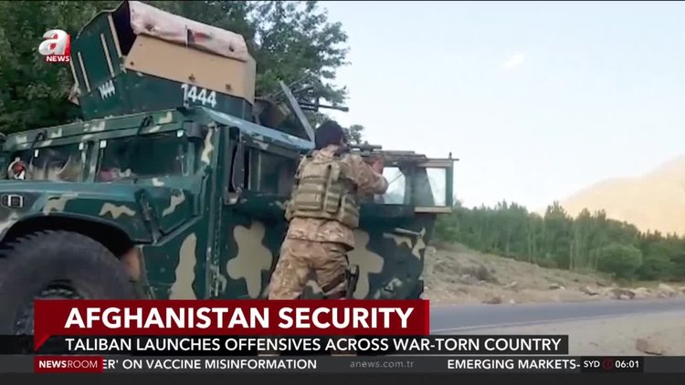 Taliban launches offensives across war-torn Afghanistan