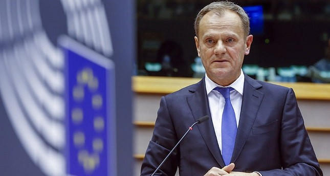 Tusk proposes Turkey-EU summit in March 2017 as bloc says committed to deal