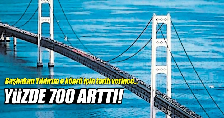 Çanakkale'de köprü fiyatları tavan yaptı