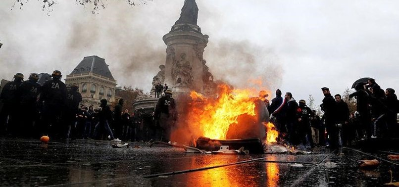 FOREIGNERS PUT ON ALERT OVER FRENCH FUEL PROTESTS