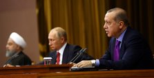 Turkey, Russia, Iran vow to back Syria's sovereignty
