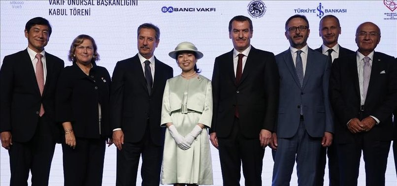 JAPANESE PRINCESS TAKES FOUNDATION CHAIR IN ISTANBUL