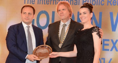 The Gaziosmanpau015fa Municipality in Istanbul also received an IPRA Golden World Award for  its accomplishments in public service.