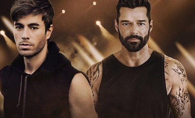 Enrique Iglesias ve Ricky Martin Turneye Çıkıyor