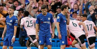 Chelsea held 1-1 by Leicester in Lampards first home match