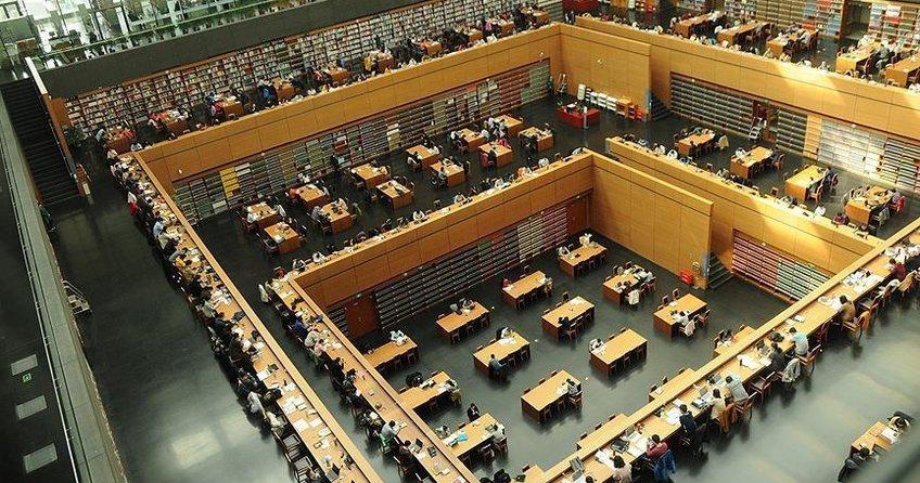 Çin Milli Kütüphanesi Asya'nın en büyüğü