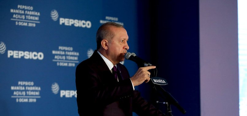 TURKEY ONE OF SAFEST COUNTRIES IN TERMS OF INVESTMENT, ERDOĞAN SAYS
