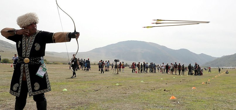 TURKISH ARCHERS WIN 2 GOLDS, 1 SILVER IN NOMAD GAMES