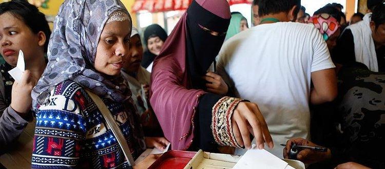 Tarihi 'Moro' referandumunda oy sayımı sürüyor