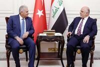 Turkey, Iraq agree on joint fight against PKK, Daesh during PM Yıldırım's Baghdad visit