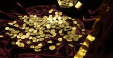 Collection of Roman-era coins unearthed in western Turkey