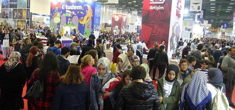 INTERNATIONAL BOOK FAIR KICKS OFF IN ISTANBUL