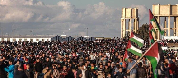 'Gazze sınırındaki gösterilere yönelik herhangi bir saldırıdan İsrail sorumlu'