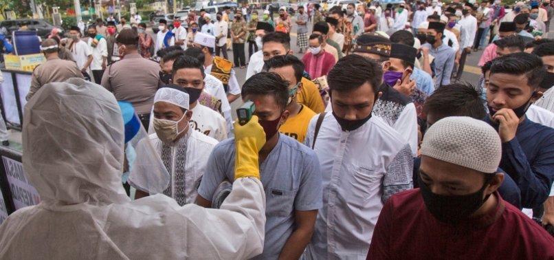 INDONESIA REPORTS 2,354 NEW CORONAVIRUS CASES, 50 MORE DEATHS