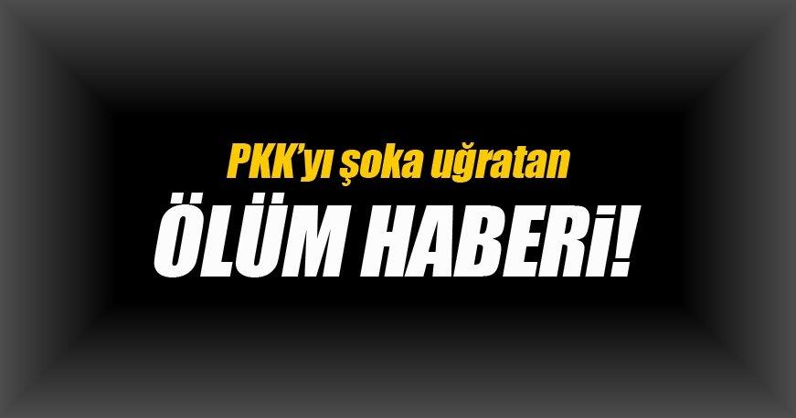 PKK'yı şoka uğratan ölüm haberi!
