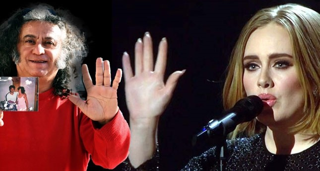Turkish musician from Bodrum claims he is the father of British star Adele