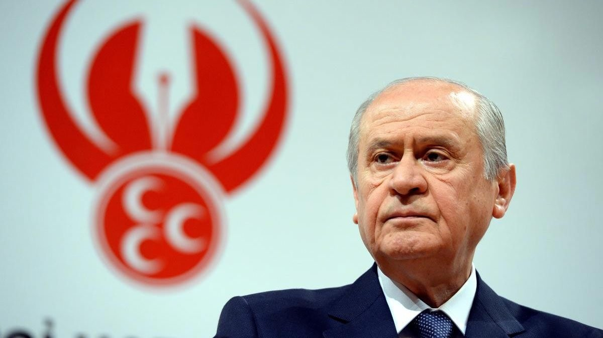 Opposition MHP Chairman Devlet Bahu00e7eli