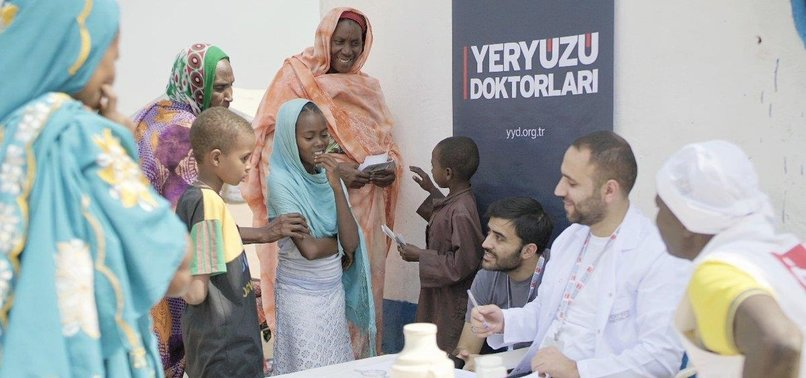 TURKISH CHARITY GROUP MAINTAINS AID CAMPAIGN FOR NEEDY DURING RAMADAN