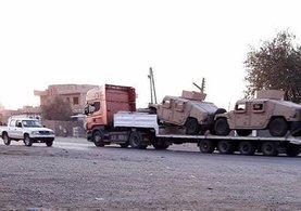 ABD'den PKK/PYD'ye zırhlı araç sevkiyatı