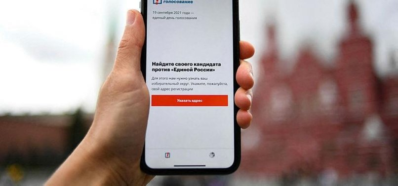 GOOGLE, APPLE CENSOR NAVALNY APP AS RUSSIAN POLLS OPEN