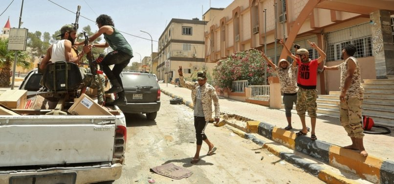 WEAPONS SUPPLIED BY UAE TO HAFTAR MILITIAS SEIZED IN LIBYA