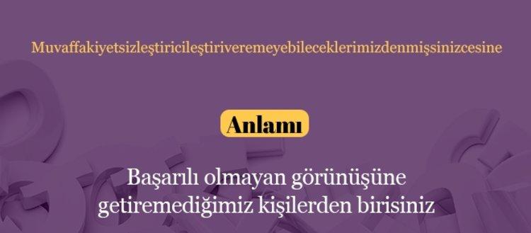 Türkçede telaffuzu zor olan 50 kelime ve anlamları...