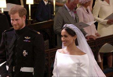 Prens Harry ve Meghan Markle'ın düğününden kareler
